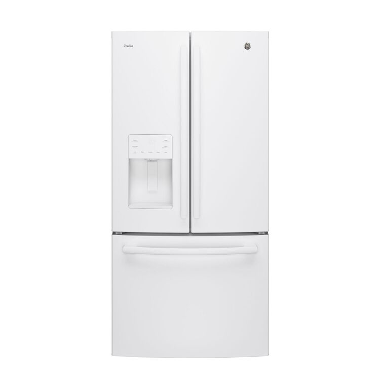 23.8 cu. ft. Energy Star French Door Refrigerator - White