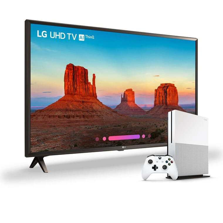 "65"" Class 4K UHD LED Smart TV & 1TB Xbox One S Bundle"