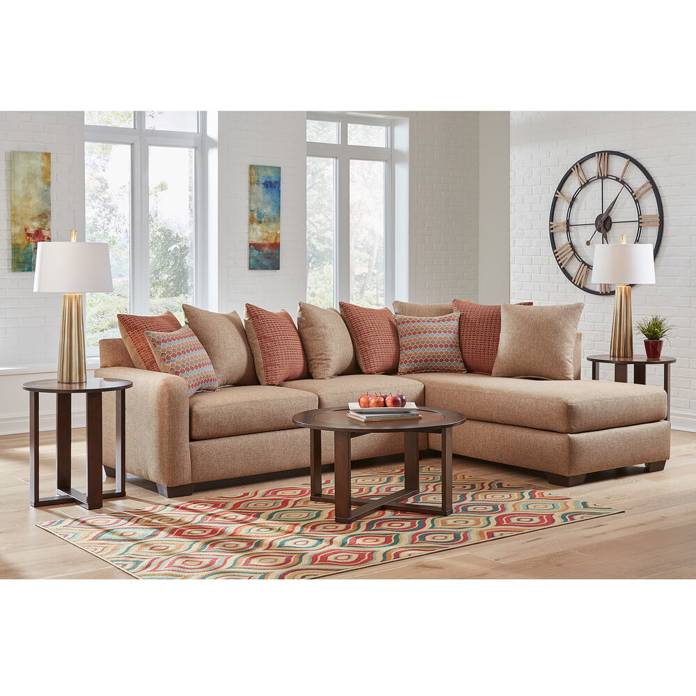 Woodhaven Industries Living Room Sets 7-Piece Casablanca