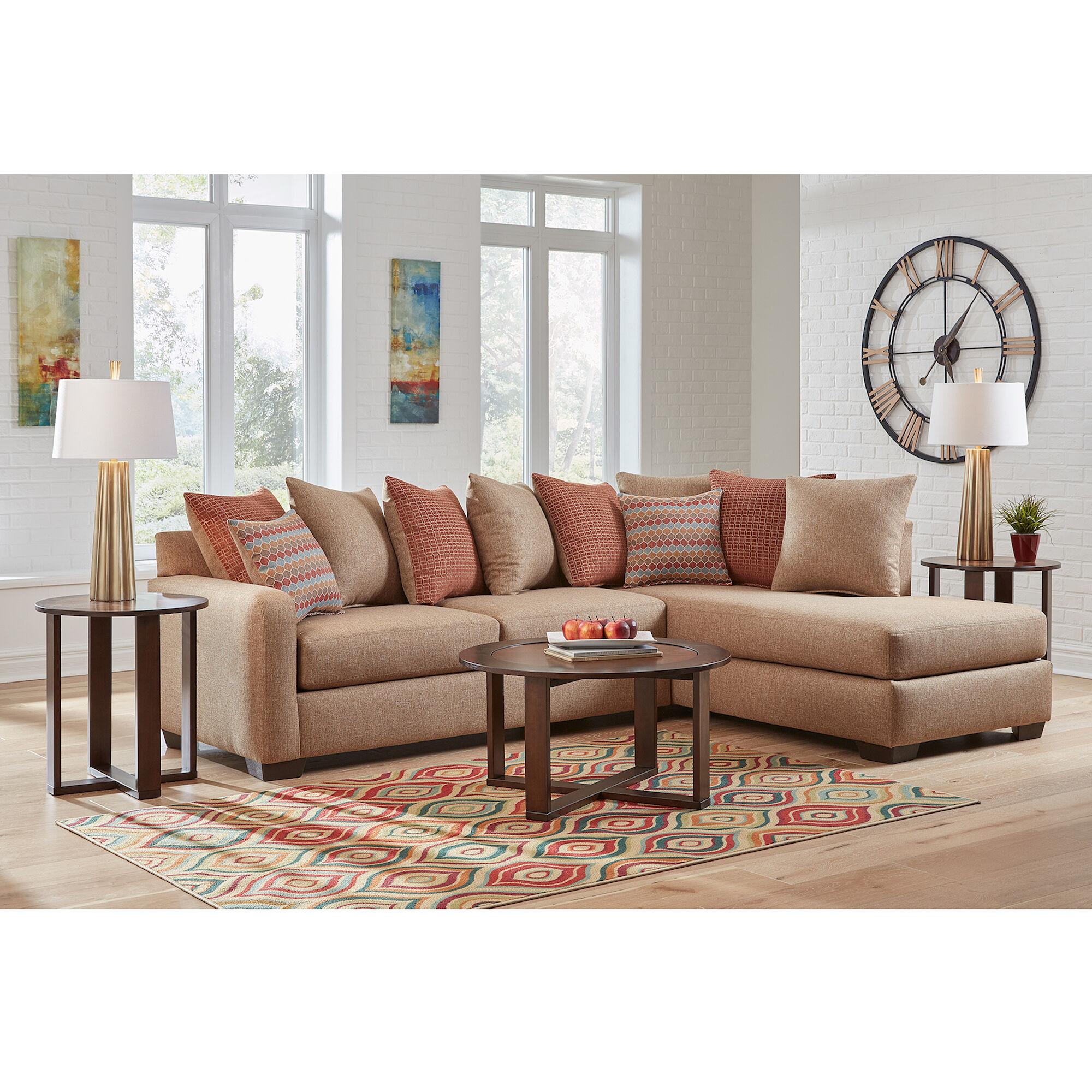 Superbe 7 Piece Casablanca Living Room Collection