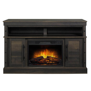 "54"" Media Fireplace with 23"" Firebox"