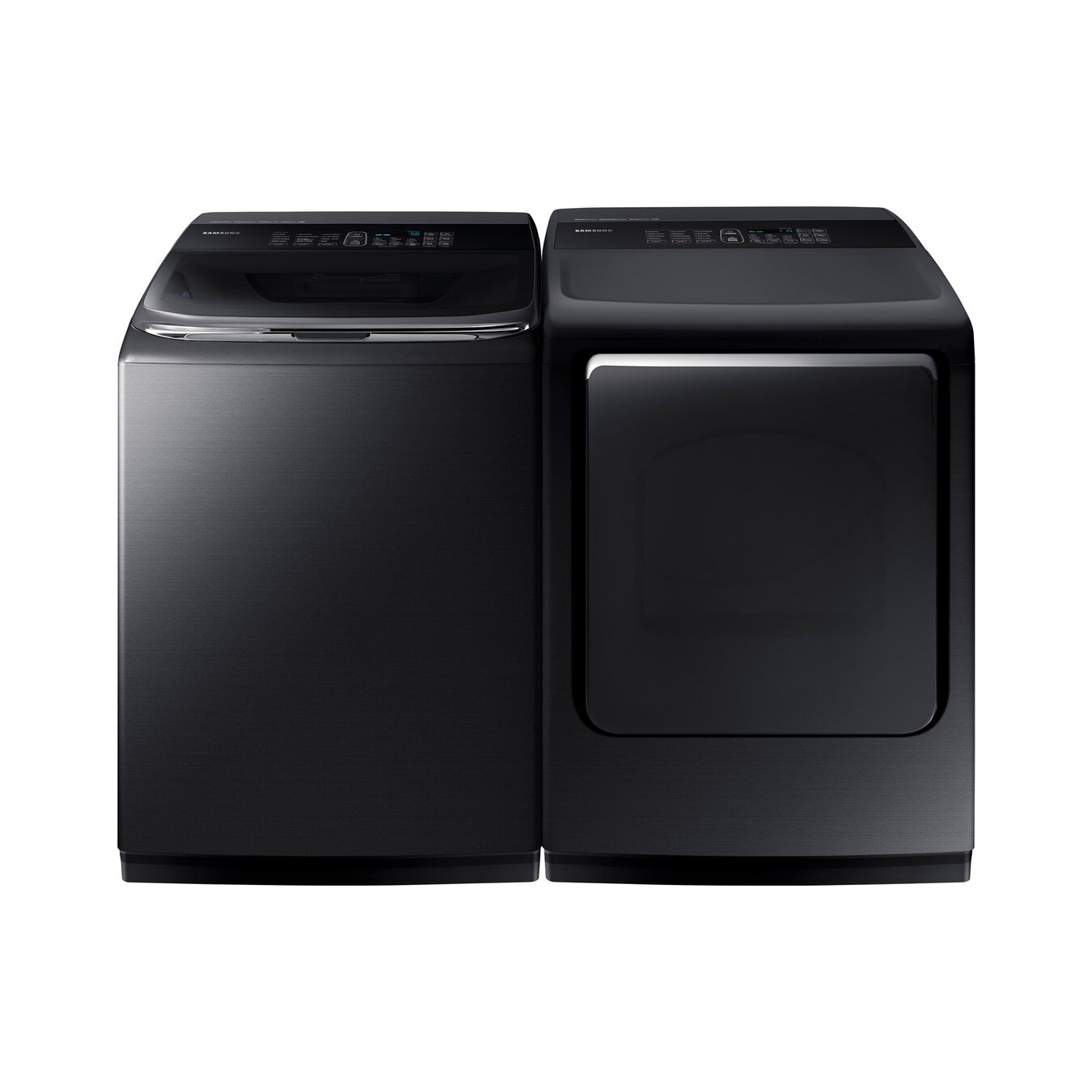 black washer and dryer. High-Efficiency Washer \u0026 7.4 Cu. Ft. Electric Black And Dryer S