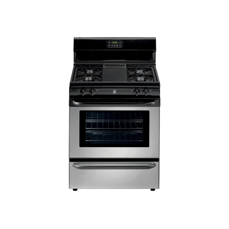 4.2 cu. ft. Gas Range - Stainless Steel