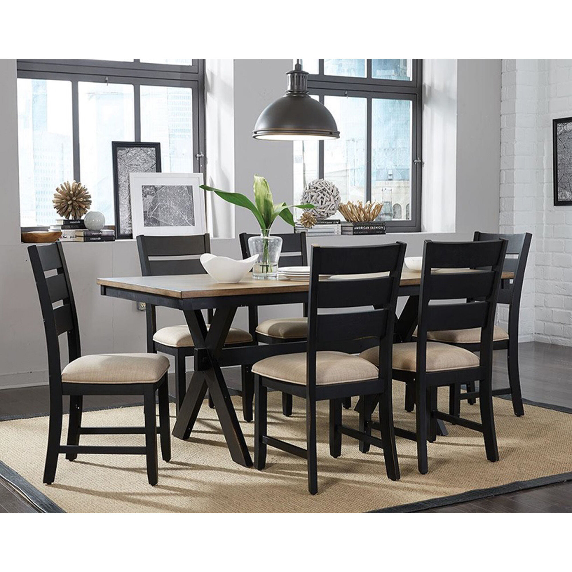 Amazing 7 Piece Braydon Dining Room Collection
