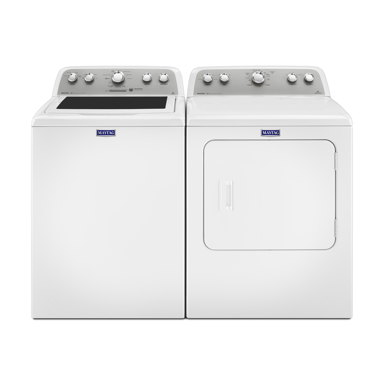 Bravos 4.3 cu. ft. High Efficiency Top Load Washer & 7.0 cu. ft. High Efficiency Gas Steam Dryer