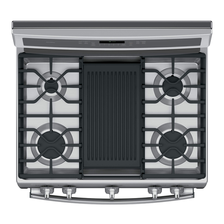 5.6 cu. ft. Self Cleaning Gas Convection Range - Stainless Steel