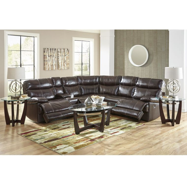 3-Piece Navarro Power Reclining Living Room Collection Sectional