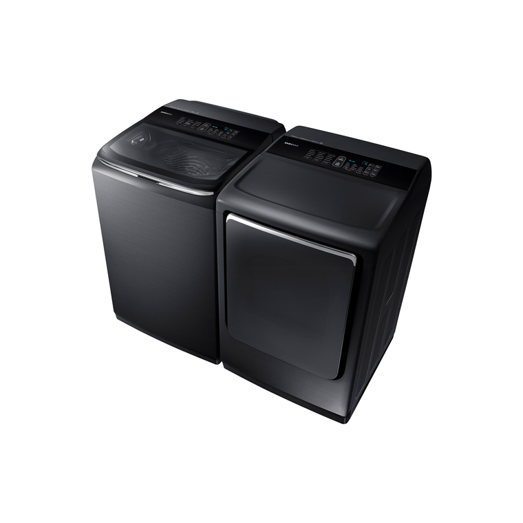 5.2 cu. ft. High-Efficiency Washer & 7.4 cu. ft. Electric Steam Dryer