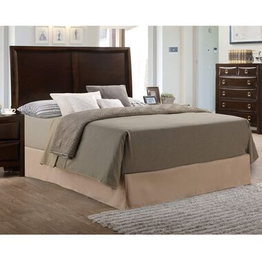 6-Piece Franklin Queen Bed Only w/ Woodhaven Pillow Top Plush Mattress
