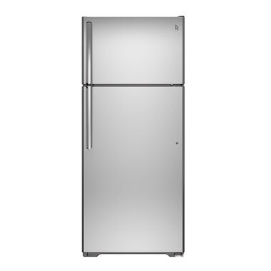 17.5 cu. ft. Top Mount Refrigerator - Stainless Steel
