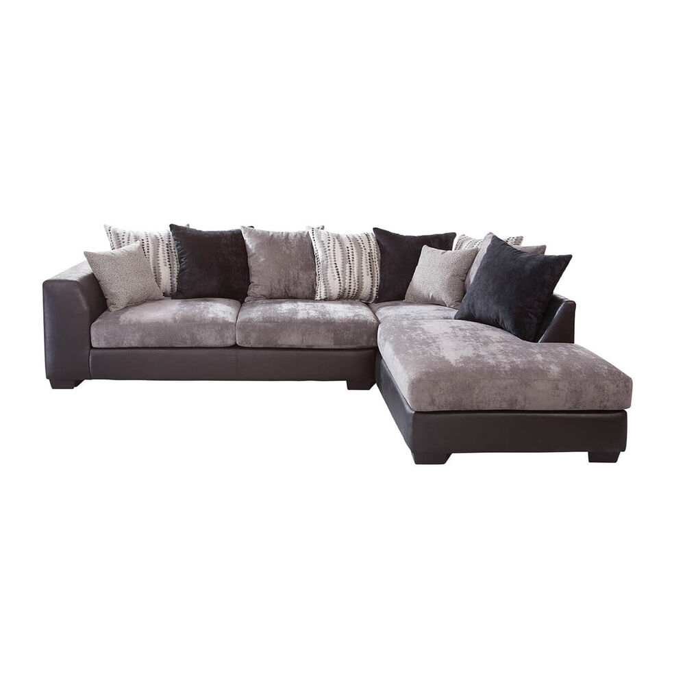 To Own Woodhaven 2 Piece Jamal Chaise Sofa Sectional At