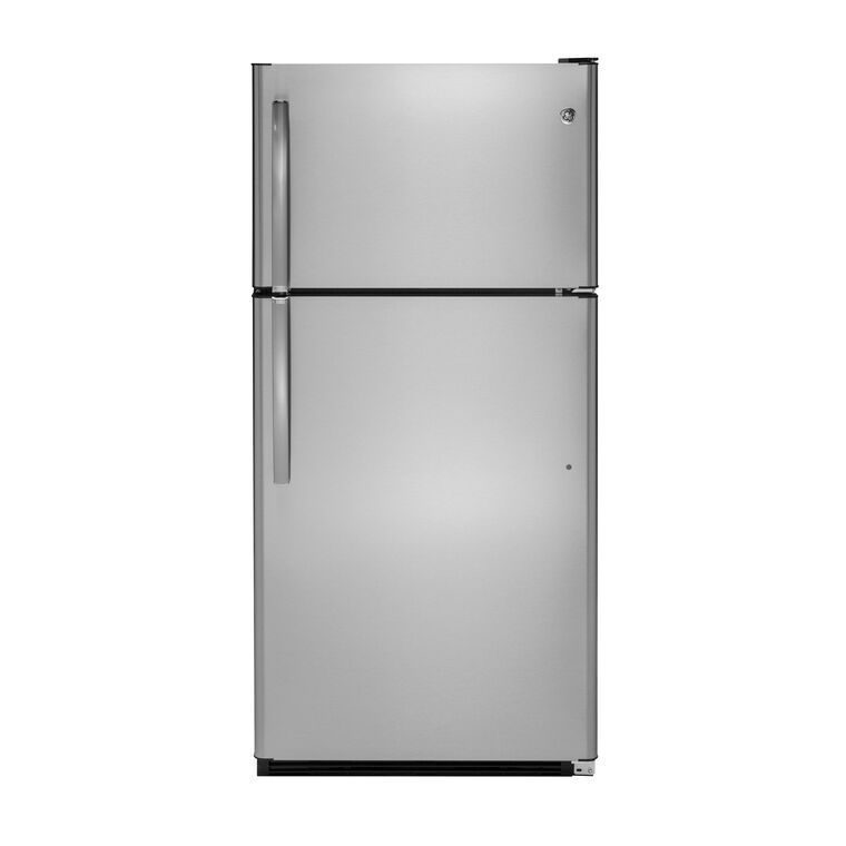 20.8 cu. ft. Top Mount Refrigerator - Stainless Steel