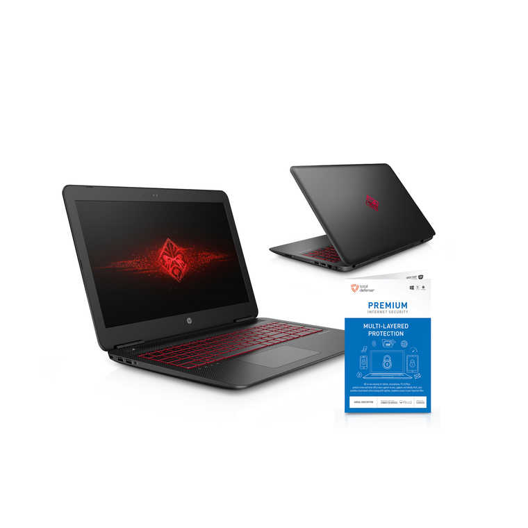 """15.6"""" Omen Laptop with Total Defense Security"""