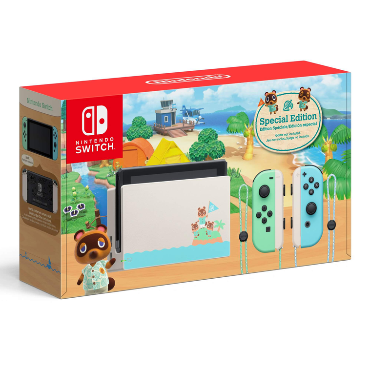 Special Limited Edition Nintendo Switch Animal Crossing