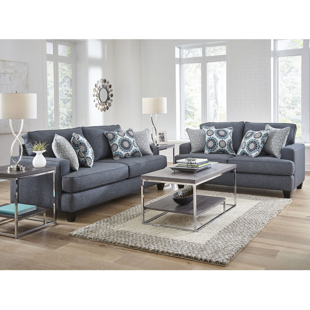 mor furniture living room sets woodhaven industries sofa amp loveseat sets 2 carmela 19304