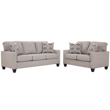 2-Piece Tisande Sofa and Loveseat