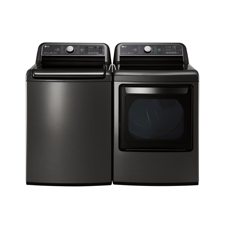 5.2 cu. ft. Super Capacity Top Load Washer & 7.3 cu. ft. Super Capacity TurboSteam™ Electric Dryer