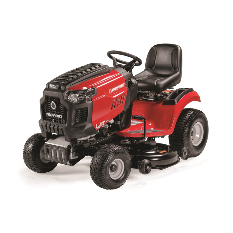 "50"" Deck 679cc Riding Mower With Foot Hydro Transmission"