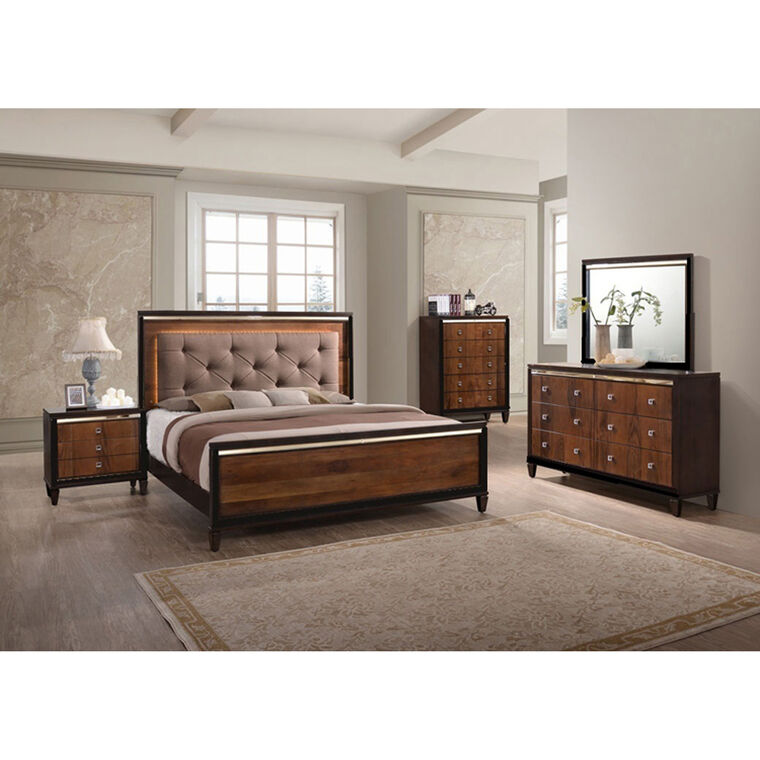 7-Piece Clarice Queen Bedroom Collection