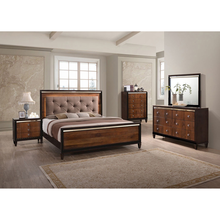 New Classic Home Bedroom Groups 7-Piece Clarice Queen