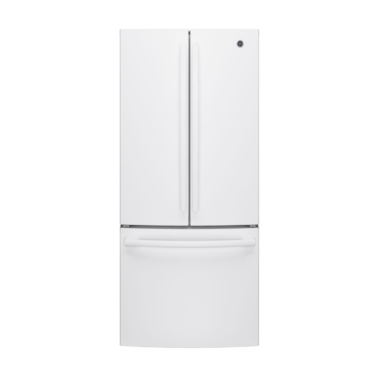20.8 cu. ft. French Door Refrigerator - White