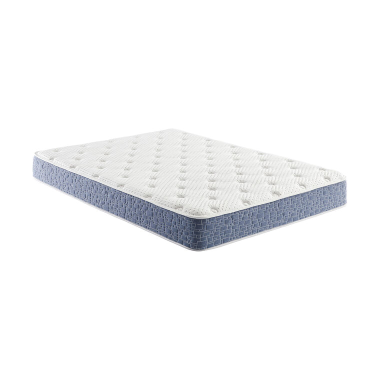 "8"" Tight Top Firm Full Hybrid Boxed Mattress"