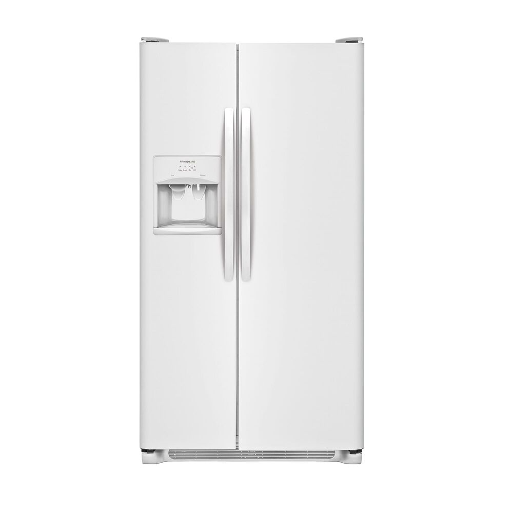 Side By Refrigerator White
