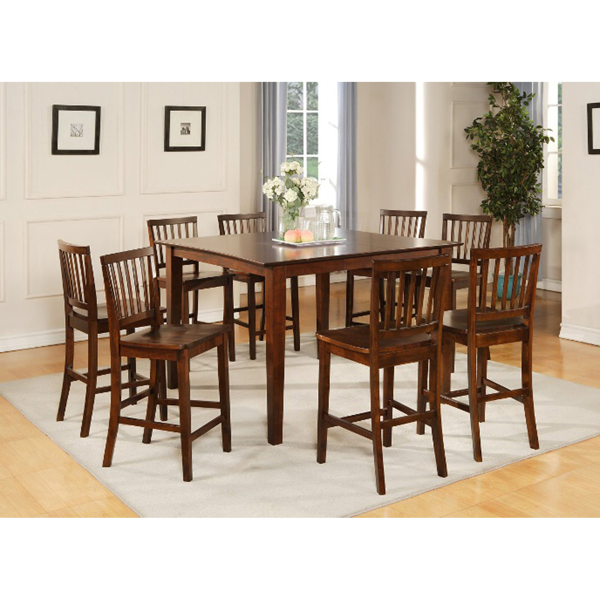 9 Piece Branson Counter Height Dining Room Collection