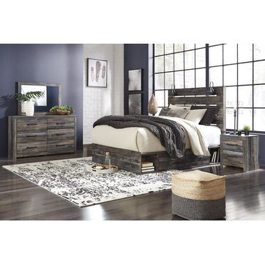 11-Piece Drystan Queen Bedroom Collection with Tight Top Mattress