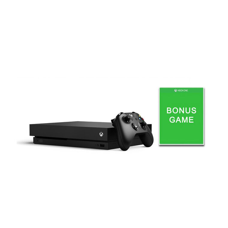 1TB Xbox One X with Bonus Game