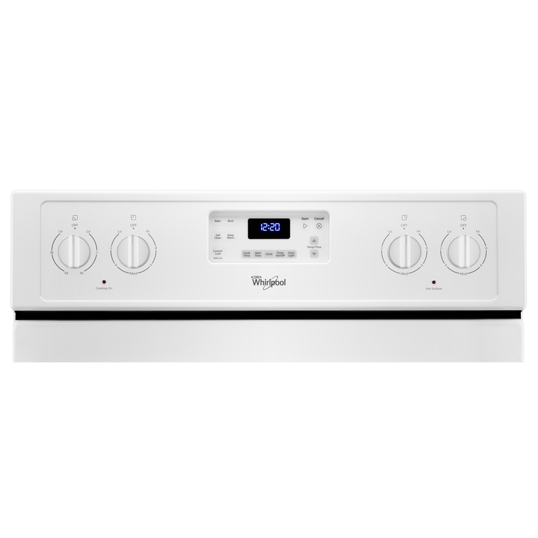 4.8 cu. ft. Self Cleaning Electric Range
