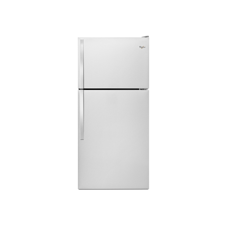 "18 cu. ft. 30"" Top Freezer Refrigerator - Stainless Steel 