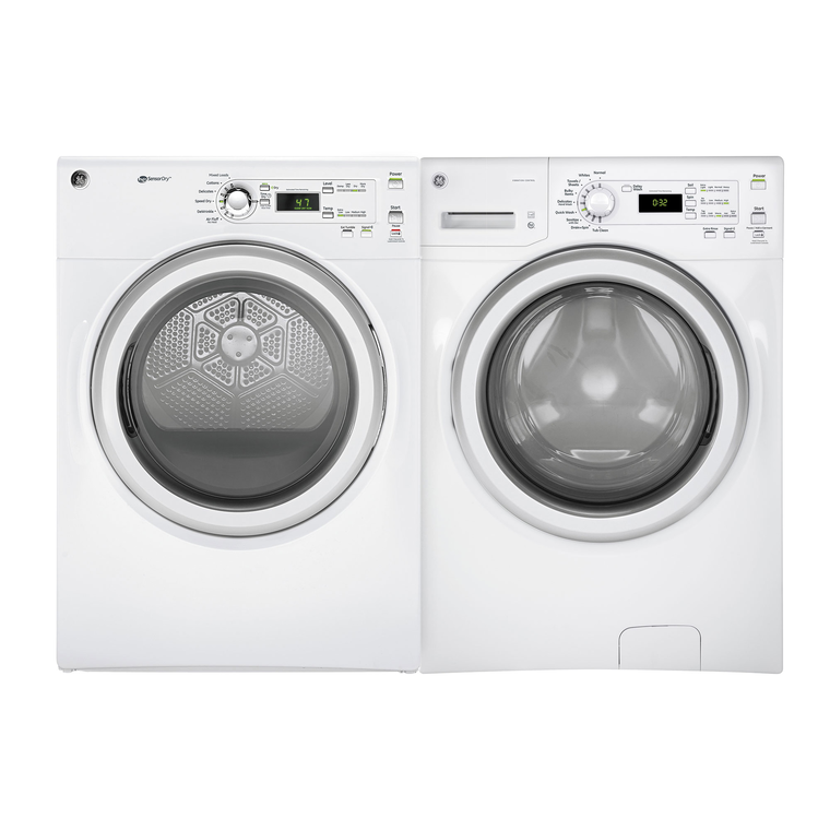 4.8 cu. ft. Energy Star Front Load Washer &  7.0 cu. ft. Energy Star Gas Dryer