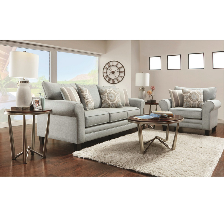 The Living Room Furniture: Fusion Furniture Living Room Sets 7-Piece Lara Living Room