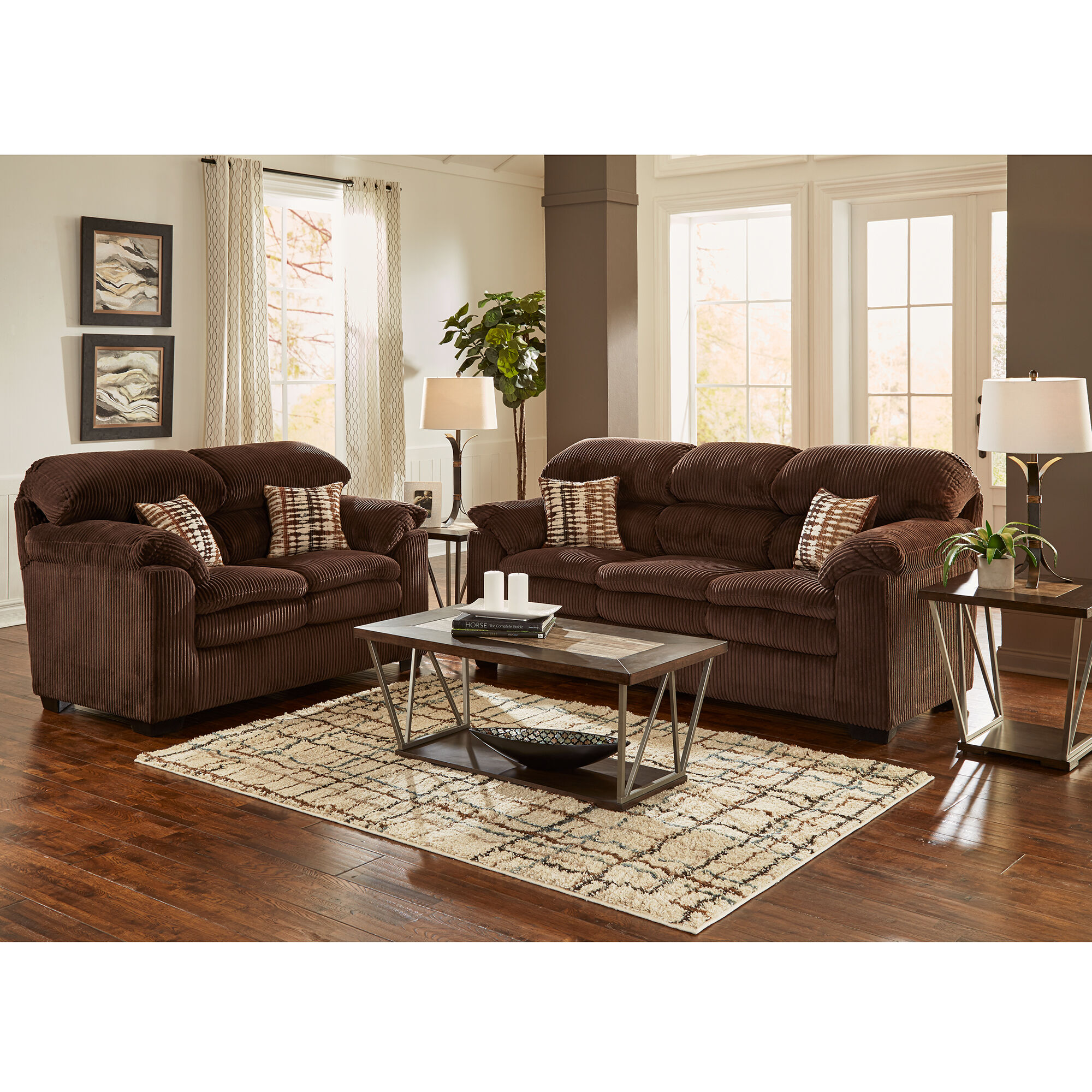 2 Piece Birmingham Living Room Collection
