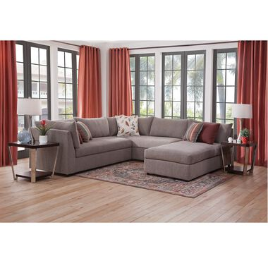 7-Piece Puzzle Chaise Sectional Sofa Living Room Collection