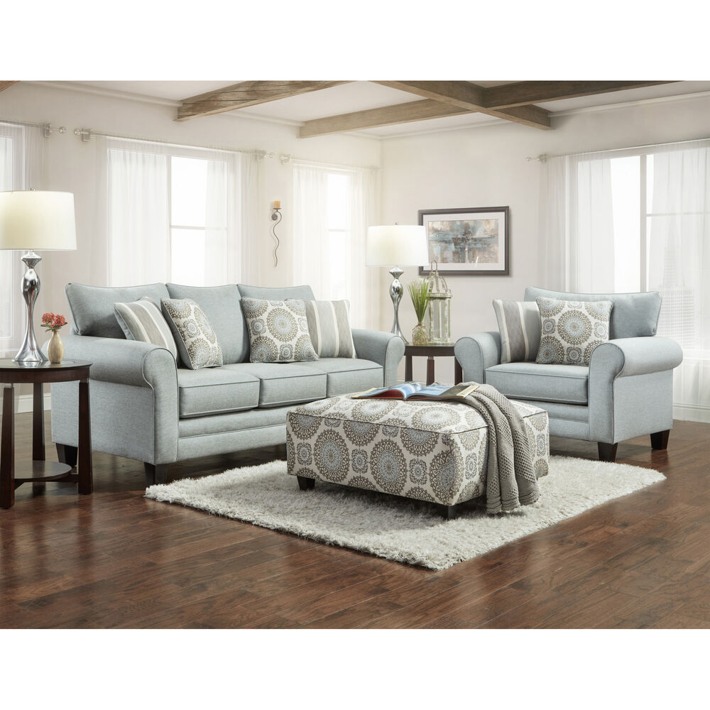 Rent to Own Fusion Furniture 3-Piece Lara Living Room ...