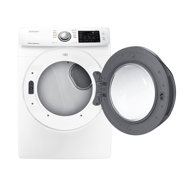 4.5 cu. ft. Front Load Washer & 7.5 cu. ft. Electric Steam Dryer