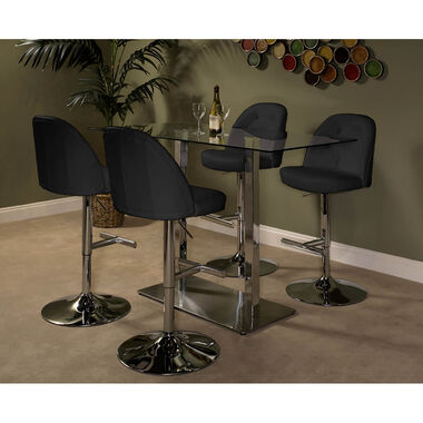 5-Piece High Country Archer Dining Set - Charcoal