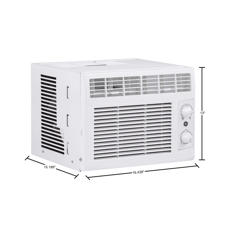 Two 5K BTU Window Mount Air Conditioners Bundle