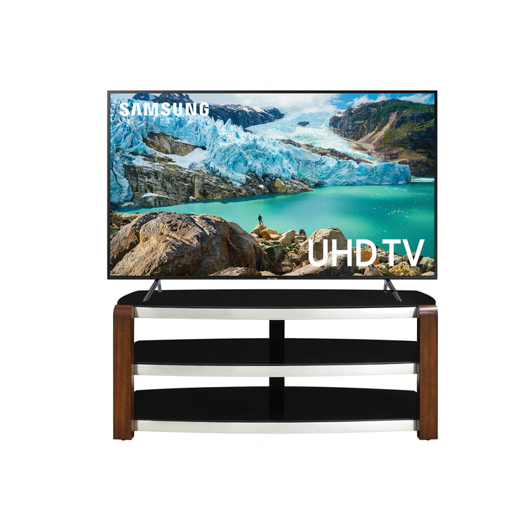 "55"" Class Smart 4K UHD TV & 54"" TV Stand Bundle"