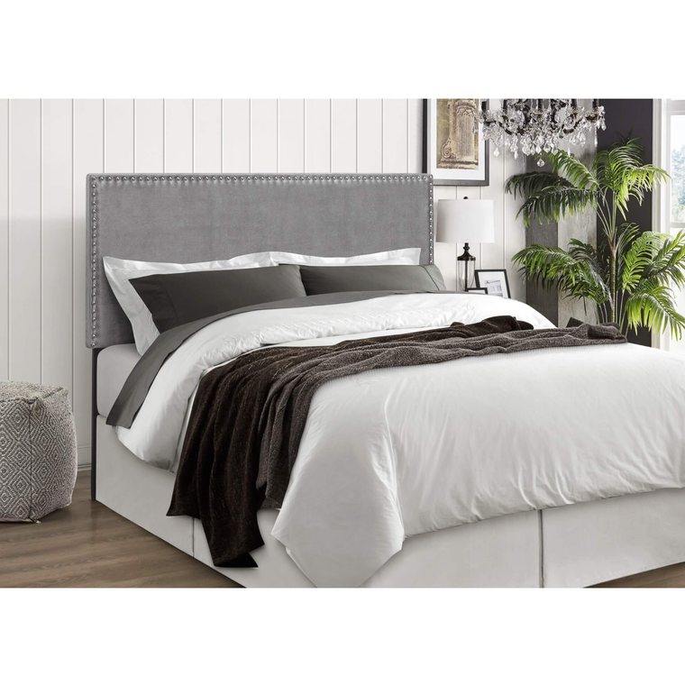 Olivia Queen Bed w/ Woodhaven Tight Top Firm Mattress