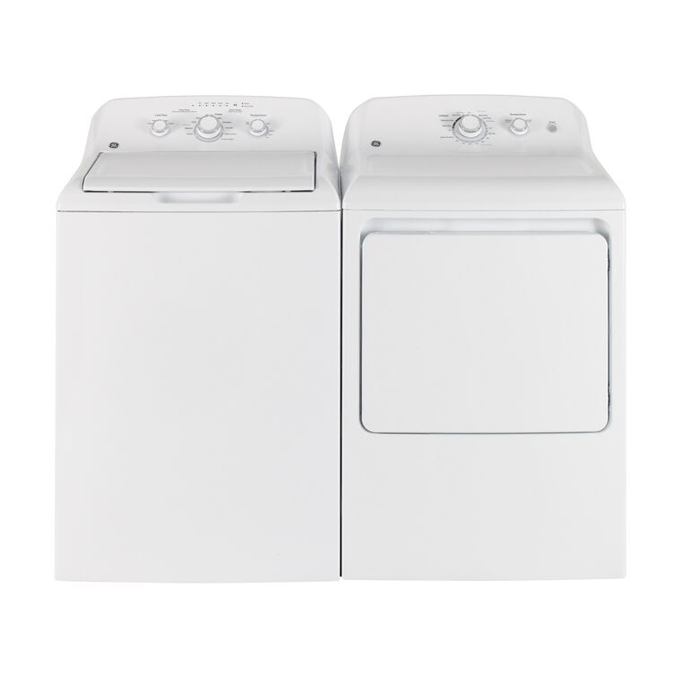 4.4 cu. ft. Top Load Washer &  6.2 cu. ft. Gas Dryer