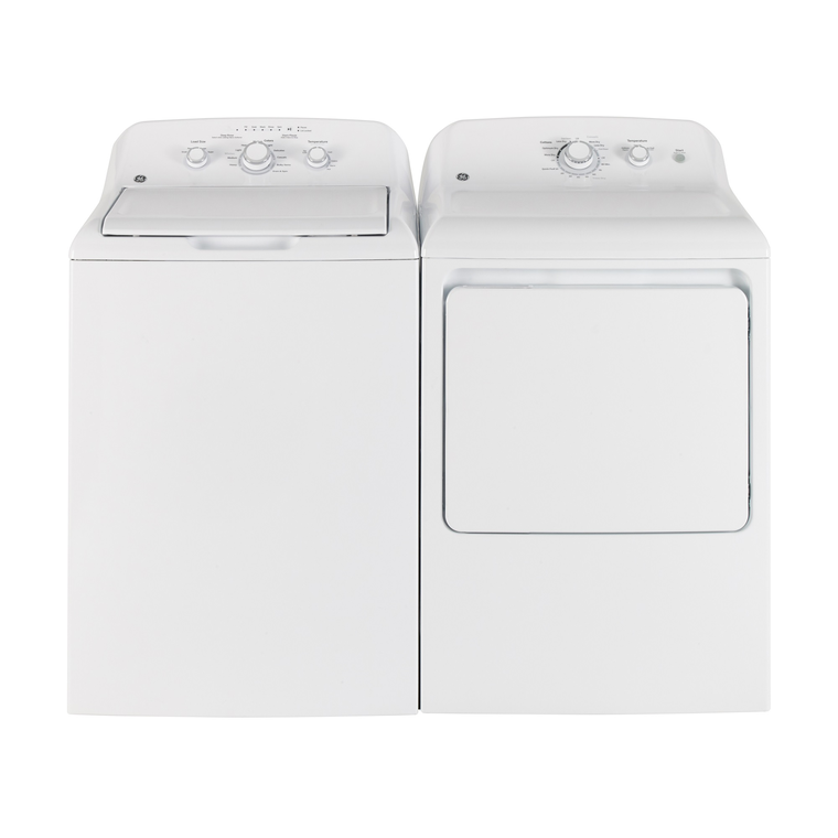 4.4 cu. ft. Top Load Washer &  6.2 cu. ft. Electric Dryer
