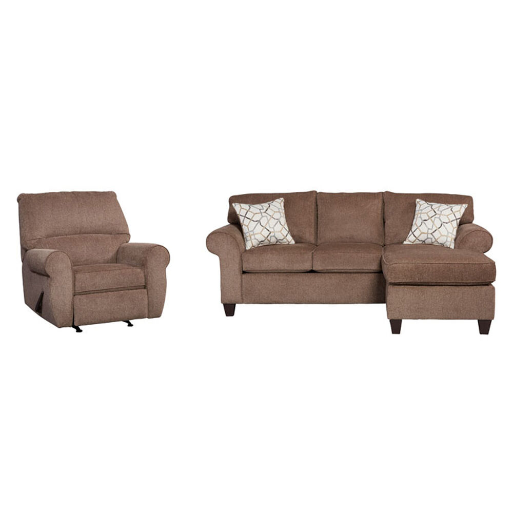 Woodhaven Industries Living Room Sets 2-Piece Hayley Living Room ...