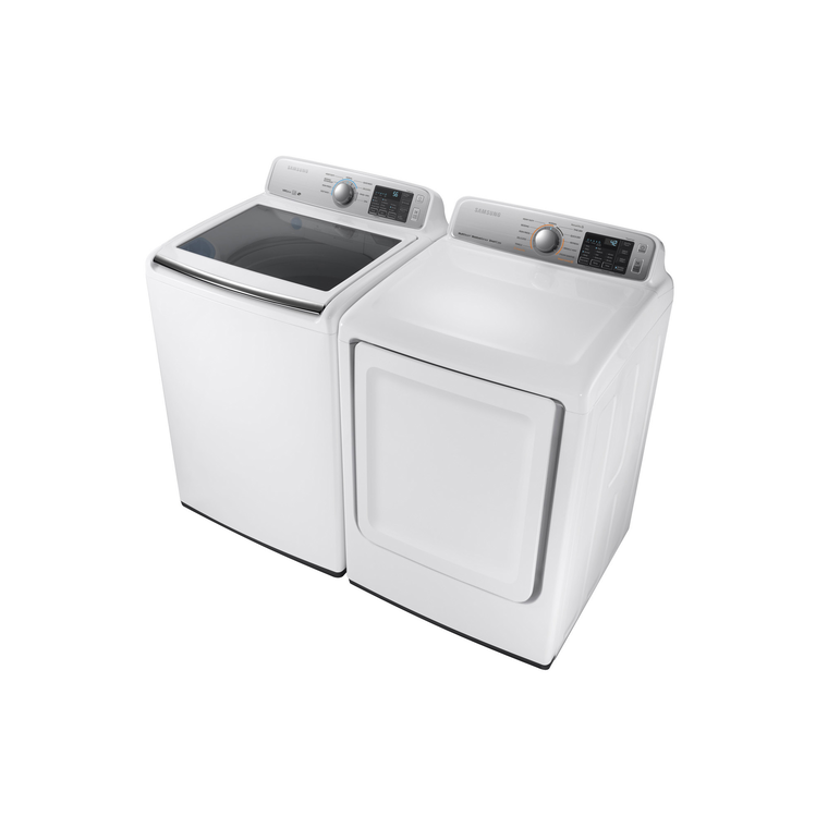 4.2 cu.  ft. Top Load Washer & 7.4 cu. ft. Electric Dryer