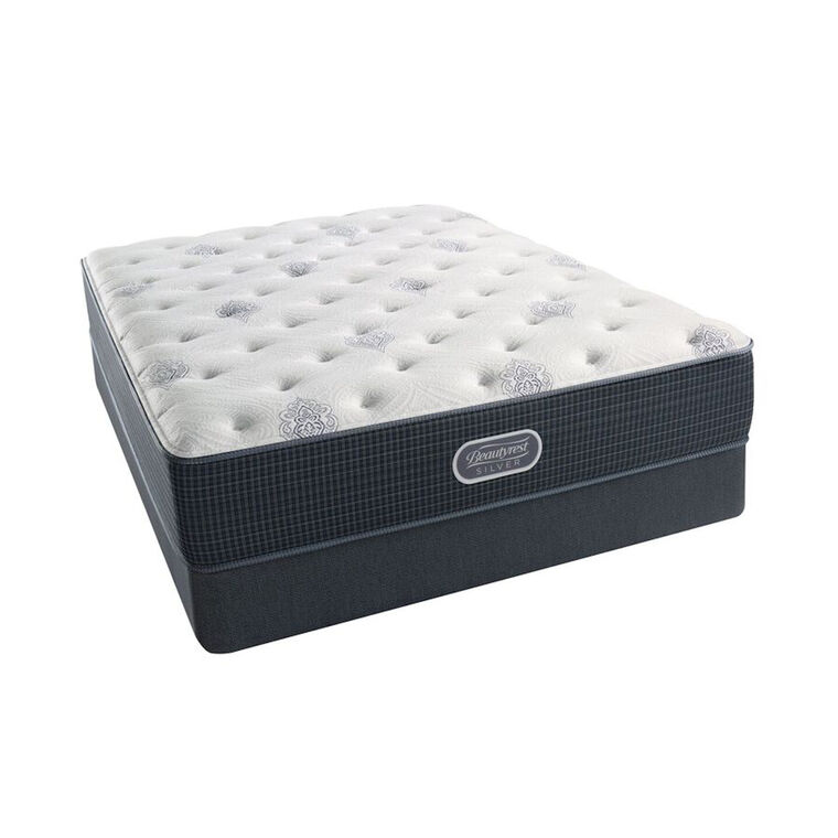 Branson Luxury Firm Queen Mattress Set with Split Foundation & Protectors