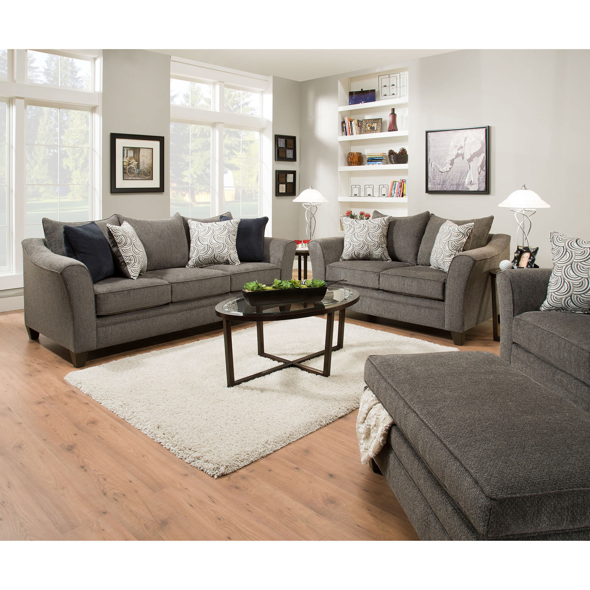 4 Piece Jada Living Room Collection United Furniture