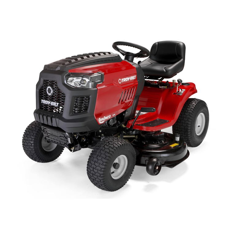 "46"" Deck 540cc Riding Mower With Automatic Transmission"