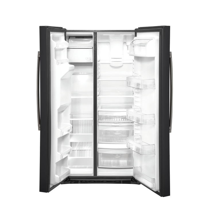 25.1 cu. ft. Side-by-Side Refrigerator - Slate